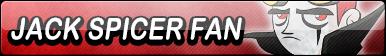 Jack Spicer Fan Button