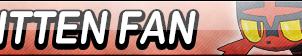 Litten Fan Button by EclipsaButterfly
