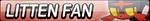 Litten Fan Button by EdaTheOwlLady
