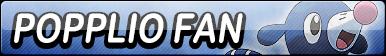 Popplio Fan Button