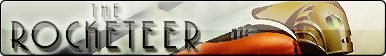 The Rocketeer Fan Button