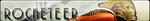 The Rocketeer Fan Button by EclipsaButterfly