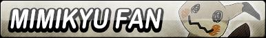 Mimikyu Fan Button by EdaTheOwlLady