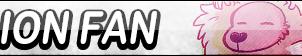 Lion Fan Button by EclipsaButterfly