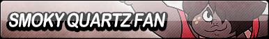 Smoky Quartz Fan Button