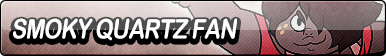 Smoky Quartz Fan Button by EclipsaButterfly