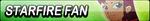 Starfire Fan Button by EdaTheOwlLady