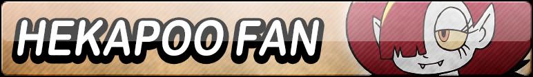 Hekapoo XL Fan Button by EclipsaButterfly