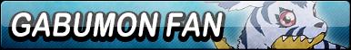 Gabumon Fan Button