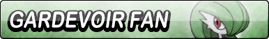 Gardevoir Fan Button
