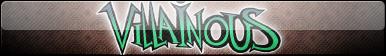 Villainous (Logo Only) Fan Button