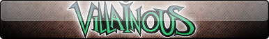 Villainous (Logo Only) Fan Button by EclipsaButterfly