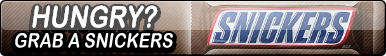 Snickers Fan Button