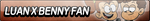 Luan X Benny Fan Button by EdaTheOwlLady