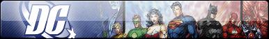 DC Superheroes Fan Button