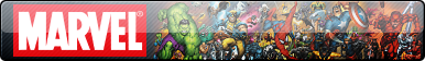 Marvel Superheroes Fan Button by EclipsaButterfly