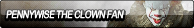 Pennywise The Clown (2017) Fan Button