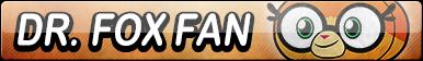 Dr. Fox Fan Button by EclipsaButterfly