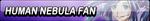 Human Nebula Fan Button by EdaTheOwlLady