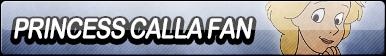 Princess Calla Fan Button