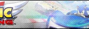 Team Sonic Racing XL Fan Button