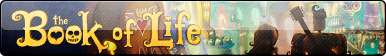 The Book of Life Fan Button by EclipsaButterfly