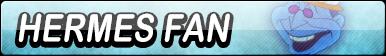 Hermes Fan Button