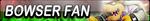 Bowser Fan Button by EclipsaButterfly