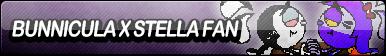 Bunnicula X Stella Fan Button