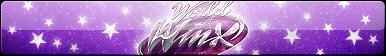 World of Winx (Logo Only) Fan Button