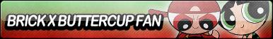 Brick X Buttercup Fan Button