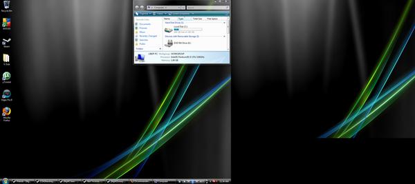 Windows Vista Desktop by 15commandments