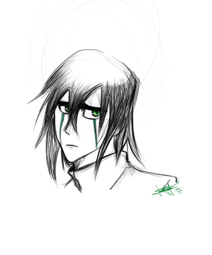 Ulquiorra Quick Sketch by daniparra