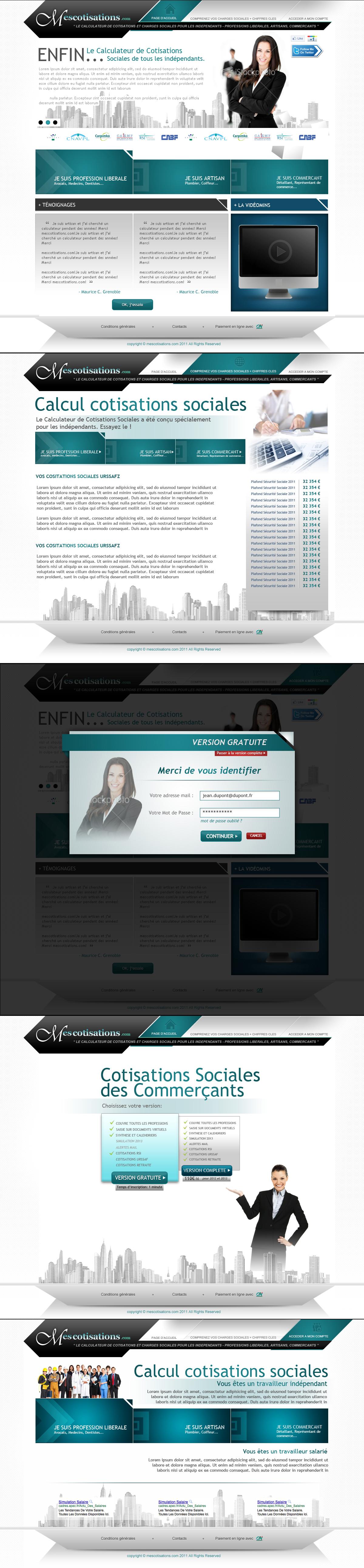 Mescotisations.com by rp-designs