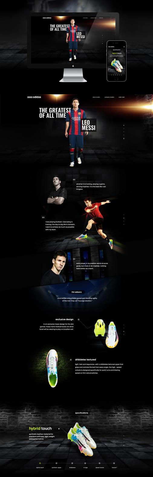 Adidas F50 Adizero Campaign by rp-designs