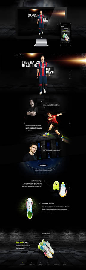 Adidas F50 Adizero Campaign
