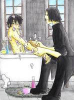 Potter, I need to do that... by Yuki-Almasy