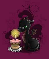 Happy Birthday DragonLadyYuki by Yuki-Almasy