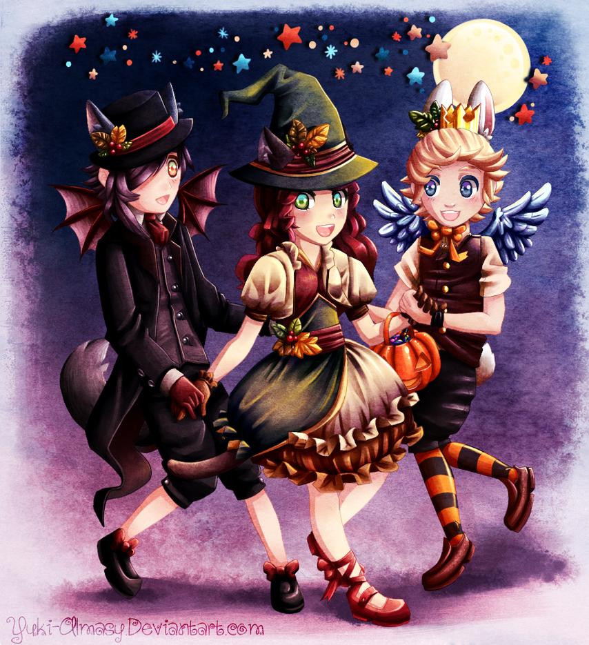 Halloween Party by Yuki-Almasy