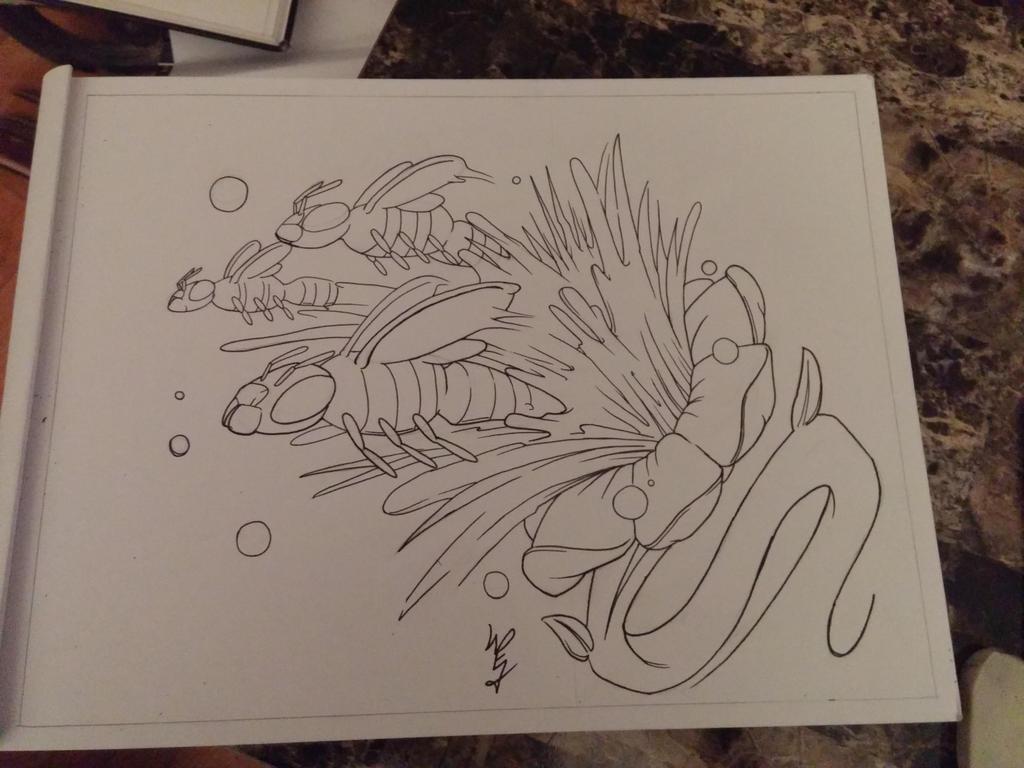 Honey splash by KratosWarrior