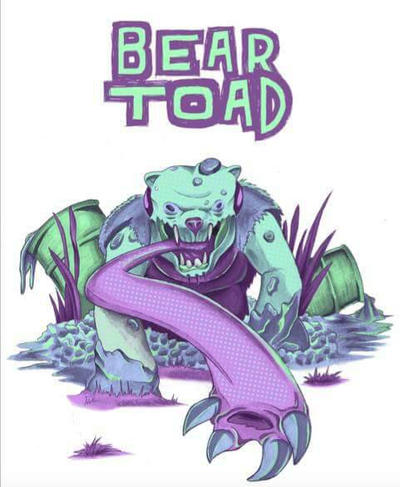 Bear toad by KratosWarrior