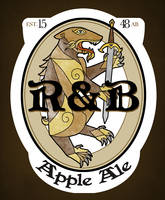 R and B Apple Ale by doppelgangergeisha