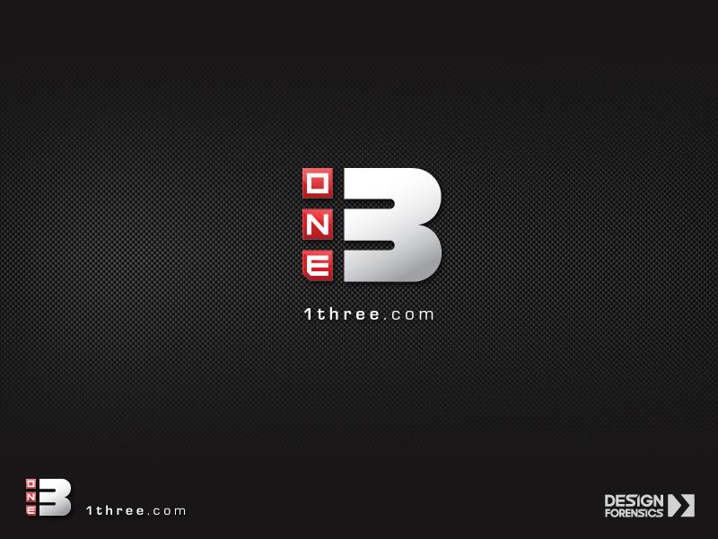 1 Three Logo by DESIGN-FORENSICS