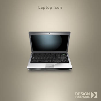 Laptop Icon by DESIGN-FORENSICS
