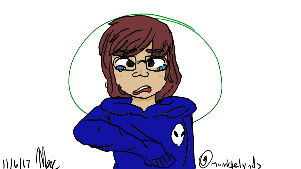 Finally back to drawing with tablet! by mumblelynds