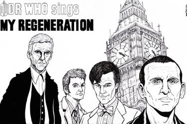 Dr Who/ The Who mash up by jeremydanielking