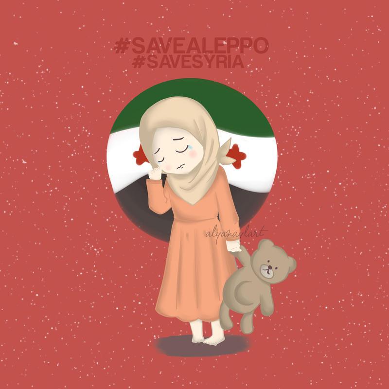 SAVE ALEPPO by alyanayla