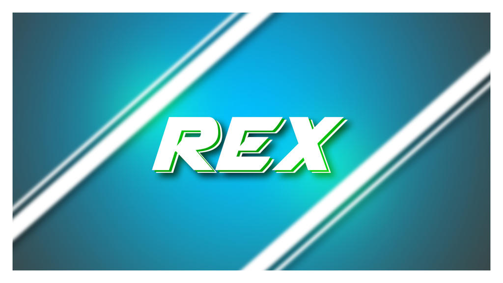 Create Name Wallpaper In Photoshop Tutorial By V1 Rex On