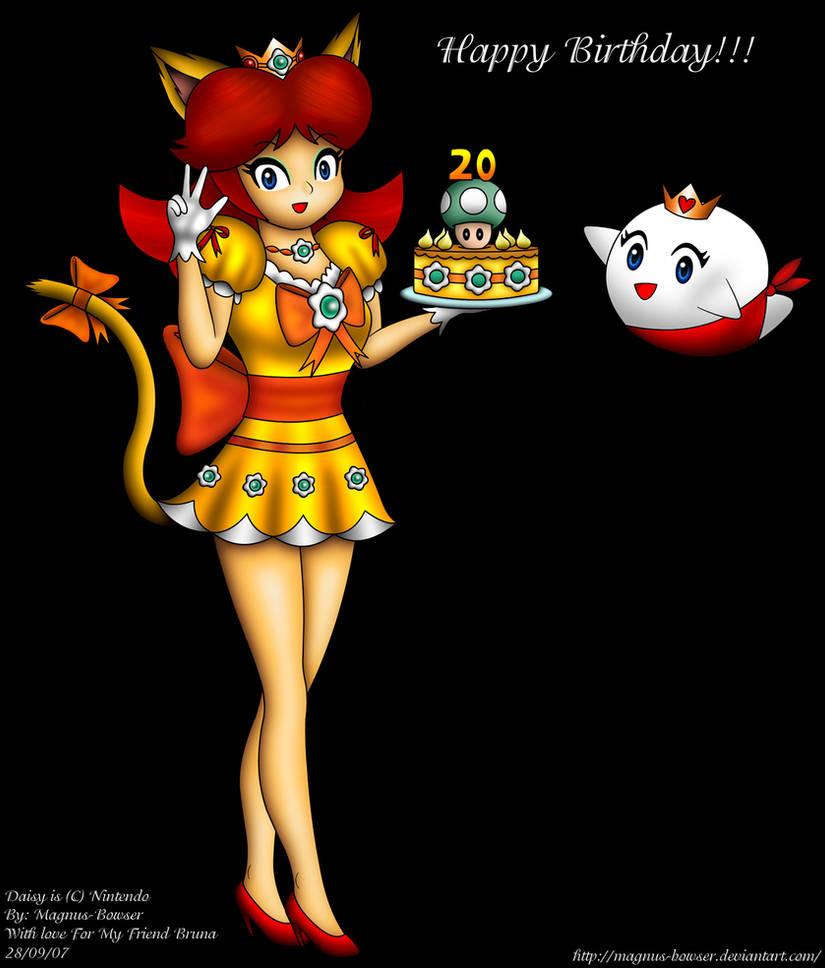 Happy Birthday Princess Daisy By Magnus-Bowser On DeviantArt
