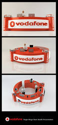 Vodafone Booth Renders by ticaxp
